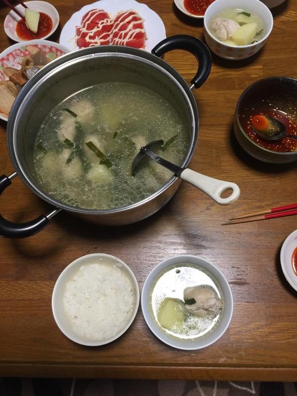 お料理~タッカンマリ風~